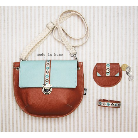 Leather mini bag collection