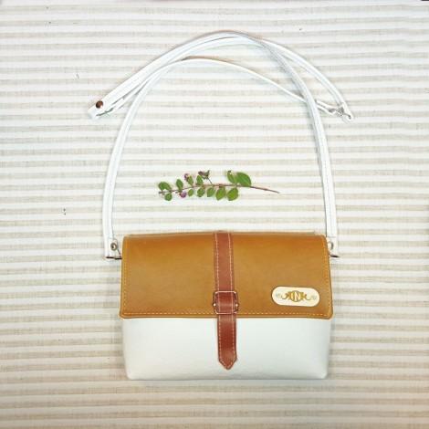 Leather bag BELLA